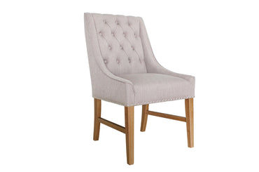 Winchester Dining Chair - Buff Linen