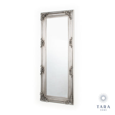 MONIQUE MIRROR CHEVAL ANTIQUE SILVER (48X148)