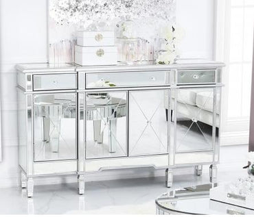 Tiffany Silver Sideboard