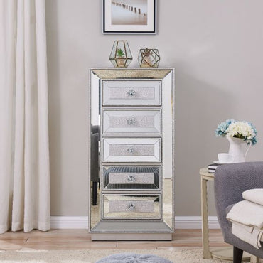 Sofia 5 Drawer Tallboy