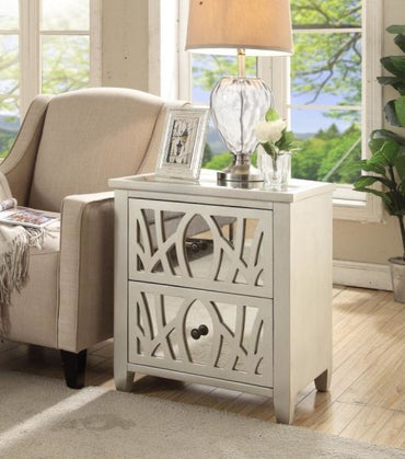 Gallo 2 Drawer Side Table