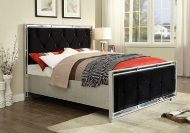 Sofia Double Bed-Black