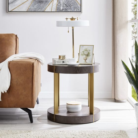 Sanremo Round Lamp Table