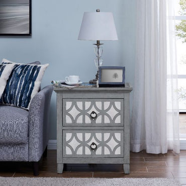 Russell 2 Drawer Side Table