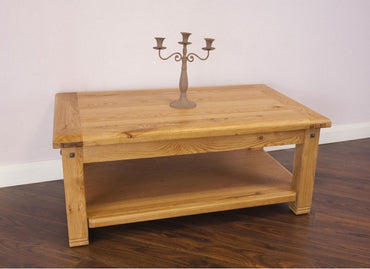 Donny - Coffee Table open shelf