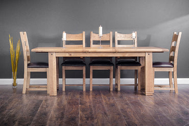 Donny - Dining Table - 2.2m - Fixed Top