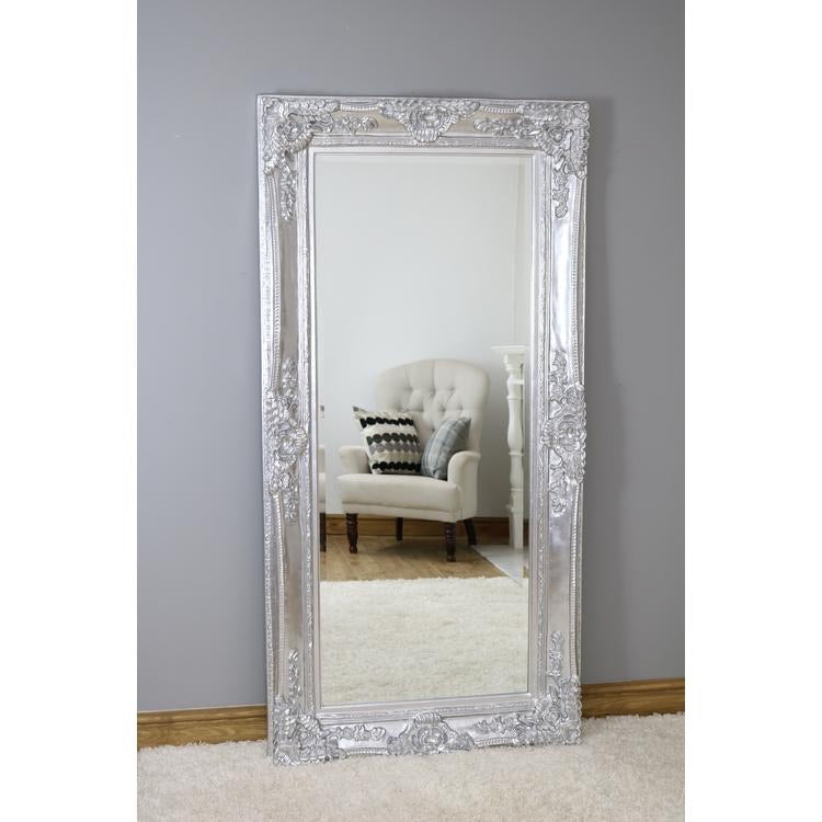 French Louis Mirror Silver