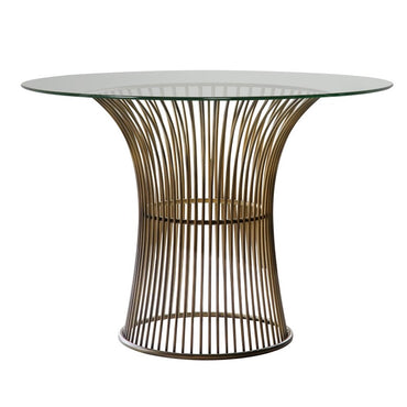 Zepplin Dining Table Bronze