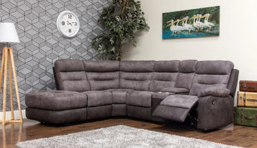 Dillon suite grey charcoal