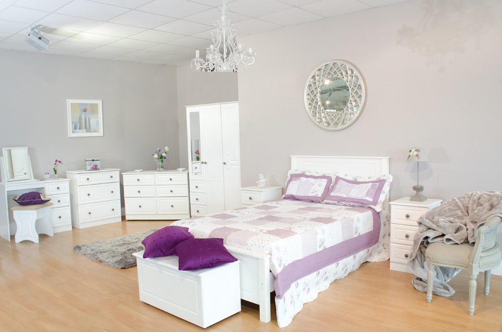 WHITE ASH BEDROOM COLLECTION