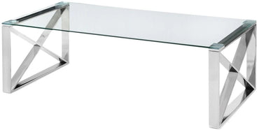 Glass Capri coffee table