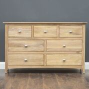 Lagan - Chest - 7 Drawer - Grey & Oak/All Oak/All Cream
