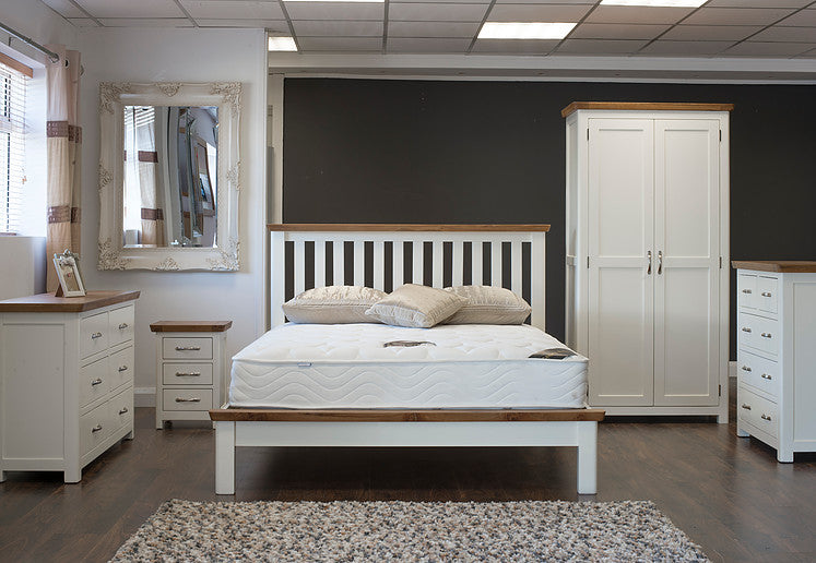 "Lagan - Bed - 36"" (3') - Grey & Oak/All Oak/All Cream"