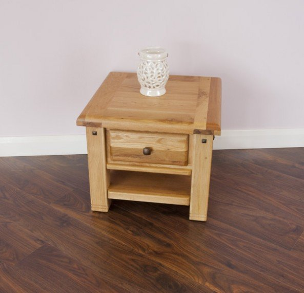 Donny - Lamp Table - 1 drawer
