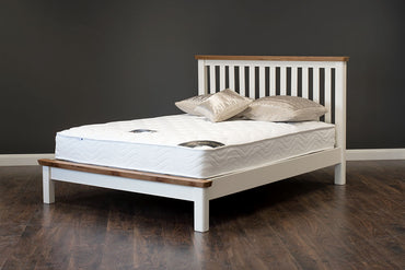 "Manhattan - Bed - 48"" (4') - Oak/Cream & Oak"