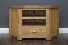 Manhattan - TV Unit - Corner - Oak