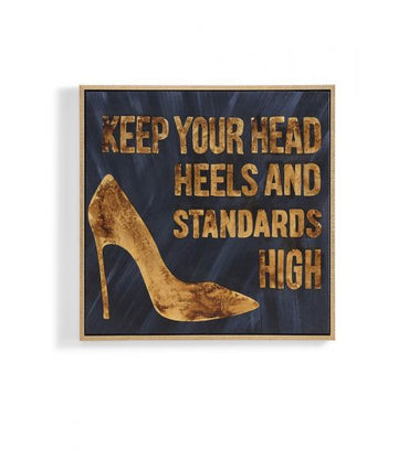 High Standards Hand Painted Wall Art