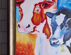 Limousin Lot Hand Painted Wall Art