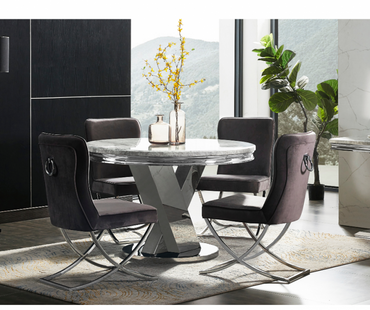 Sylvia - Dining Table - 1.2m - Round