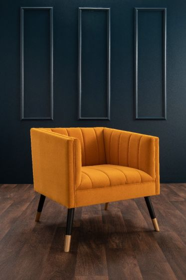 Jackson Tub Chair - Mustard
