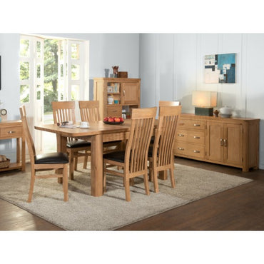 Treviso 6' Extension Dining Set (6 Chairs)