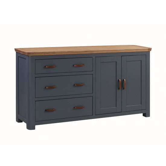 Treviso Midnight Blue Large Sideboard