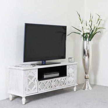 Arabella 1.2cm TV Unit silver
