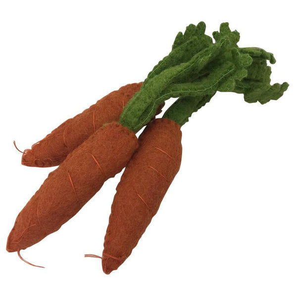 Papoose Felt Food //  Carrot