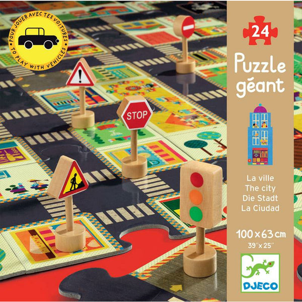 City Road Puzzle - Djeco