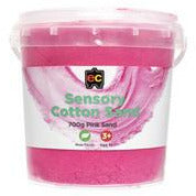 Sensory Cotton Sand 700g Tub - Pink