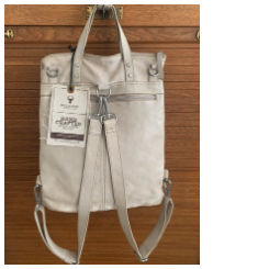 Bull & Hunt- Shopper Backpack stone