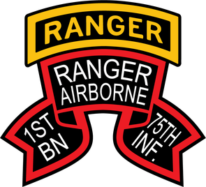 1st Ranger Bn Old Scroll