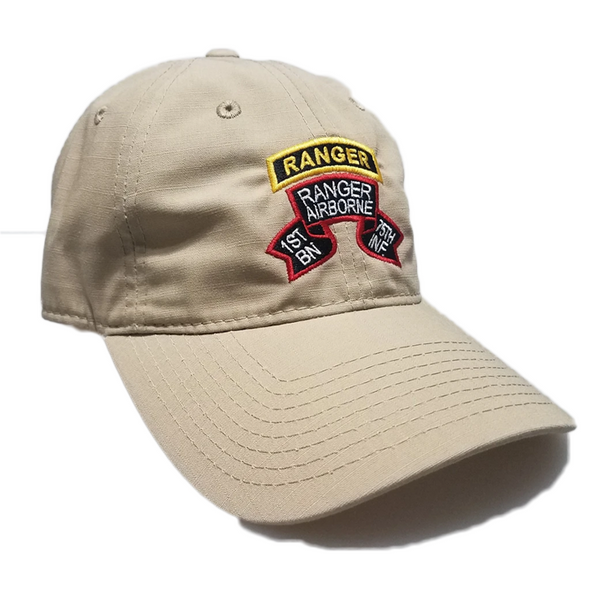 Hat - 1st Ranger Bn Old Scroll Decky cap