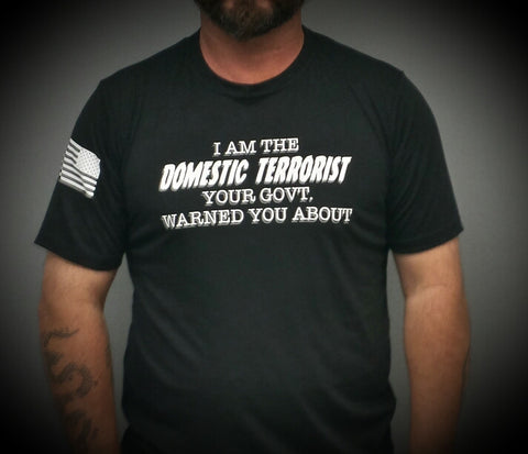 Men's - Domestic Terrorist