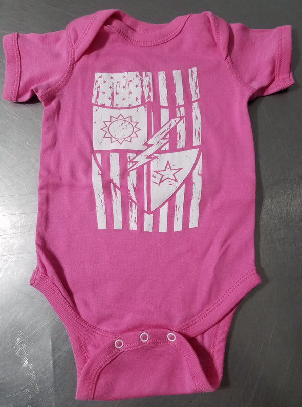 Child - DUI Flag Onsie