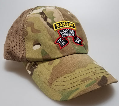 Hat - 1st Bn Old Scroll Multicam Mesh