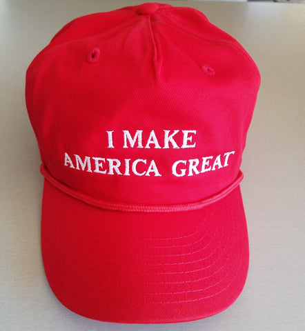 Hat - I Make America Great