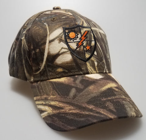 Hat - DUI Orange Realtree Max4