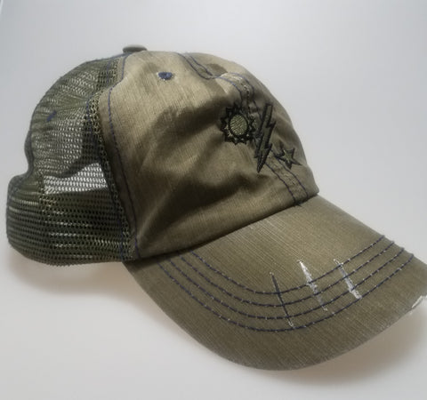 Hat - OD light weight 75th DUI Trucker