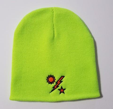 Beanie - Safety Yellow 75th DUI