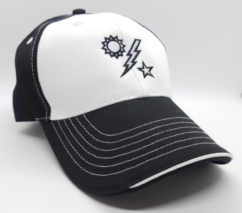 Hat - DUI Ball Cap - Black /White