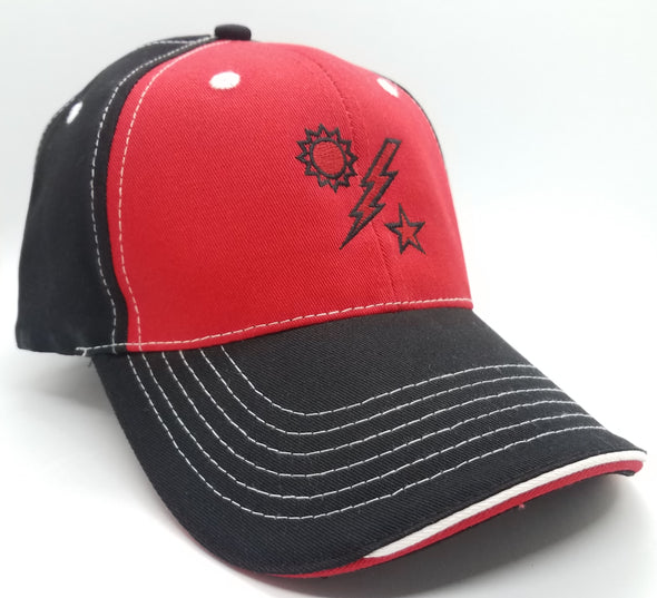 Hat - DUI Ball Cap - Black / Red