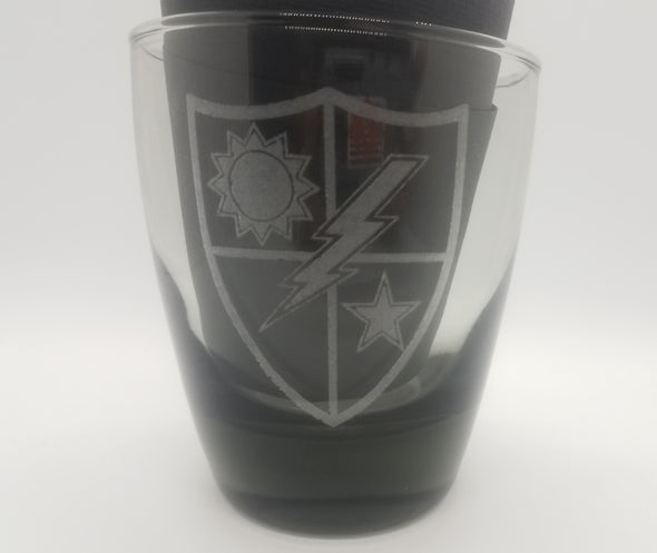 Drinking Glass - 75th DUI Shield