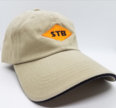 Hat - Bn Diamond Cap Close out