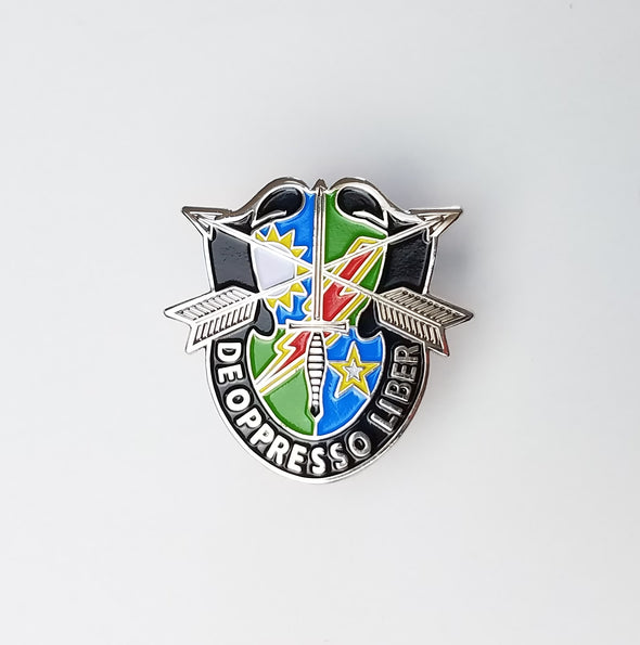 75th DUI SF Crest - Lapel Pin