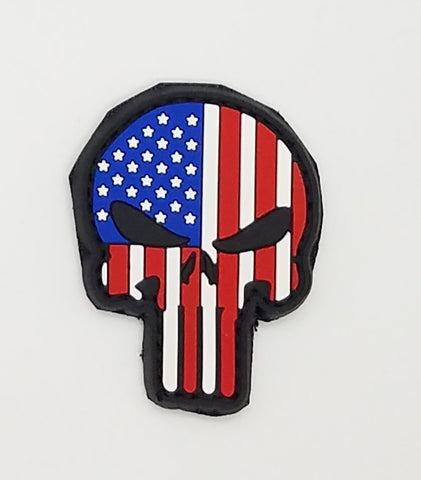 Velcro patch - Punisher American Flag