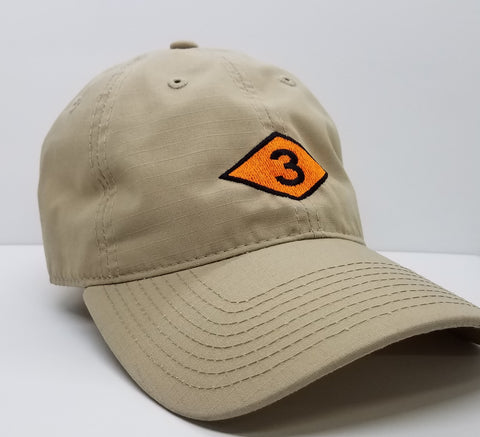 Hat - 3 Diamond Decky Cap