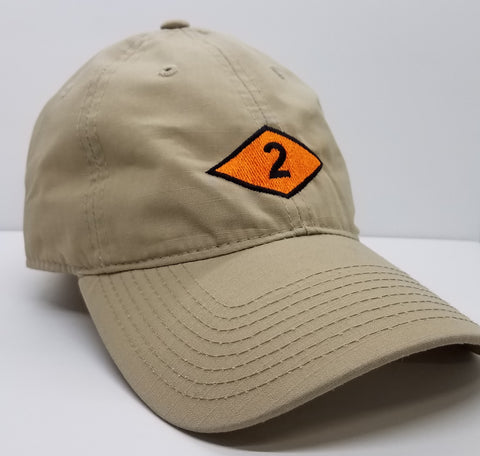 Hat - 2 Diamond Decky Cap