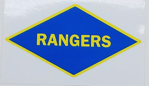Rangers WWII Sticker