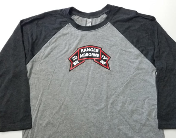 Baseball Shirt - Old Scroll